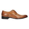 Brązowe angielki ze skóry bata, brązowy, 824-3648 - 15