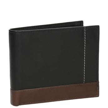 Męski skórzany portfel bata, czarny, 944-6149 - 13