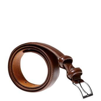 Męski pasek skórzany bata, brązowy, 954-3121 - 13