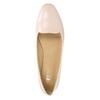 Baleriny damskie ze skóry bata, różowy, 528-5630 - 26