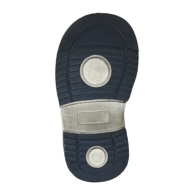 Sandały dziecięce mini-b, niebieski, 161-9100 - 26