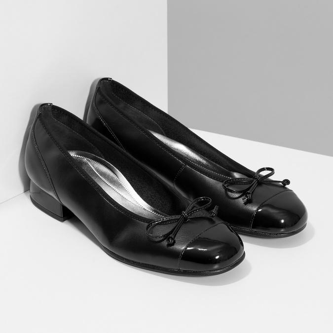 Czółenka gabor, czarny, 524-6452 - 26