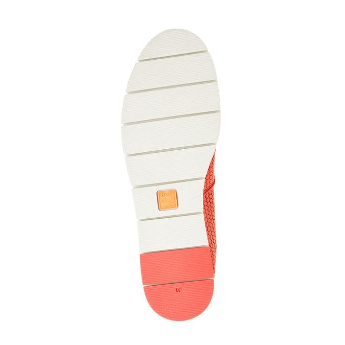 Damskie buty Slip on z plecionym wzorem flexible, czerwony, 515-5203 - 26