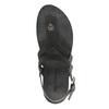 Damskie skórzane sandały weinbrenner, czarny, 566-6101 - 19