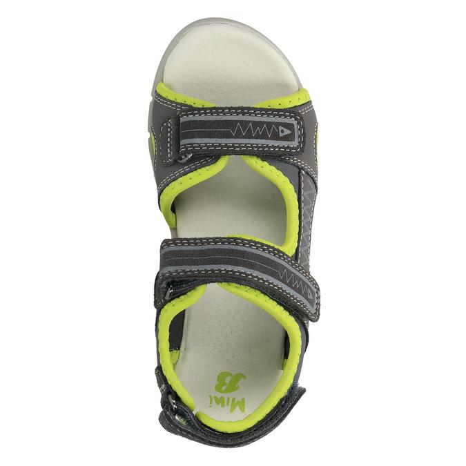 Sandały dziecięce mini-b, szary, 363-2182 - 19