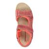 Dziecięce skórzane sandały weinbrenner-junior, pomarańczowy, 366-5170 - 19