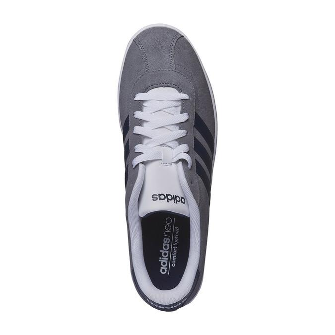 Męskie buty spacerowe adidas, szary, 803-2122 - 19