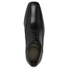 Czarne skórzane półbuty bata, czarny, 824-6724 - 19