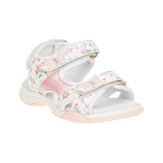 Sandały dziecięce mini-b, biały, 261-1165 - 13