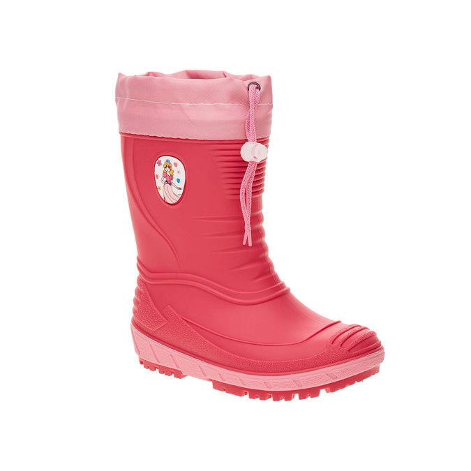 Kalosze dziecięce mini-b, różowy, 392-5101 - 13