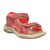 Dziecięce skórzane sandały weinbrenner-junior, pomarańczowy, 366-5170 - 13