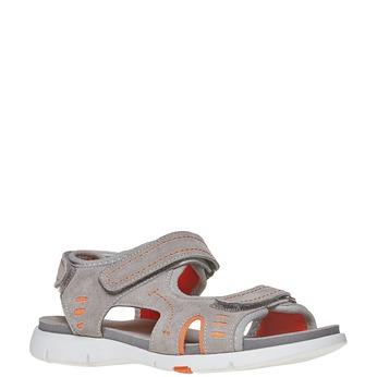 Sandały dziecięce flexible, szary, 363-2188 - 13