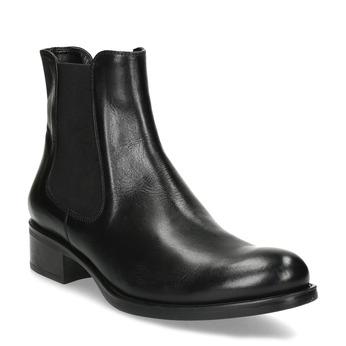 Skórzane obuwie damskie typu chelsea bata, czarny, 594-6448 - 13