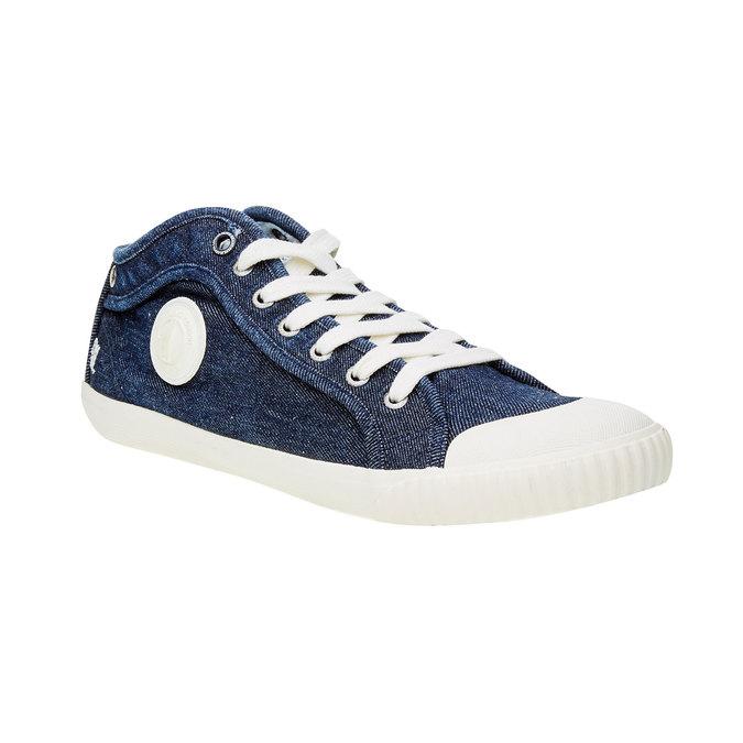 Męskie buty sportowe pepe-jeans, niebieski, 829-9009 - 13