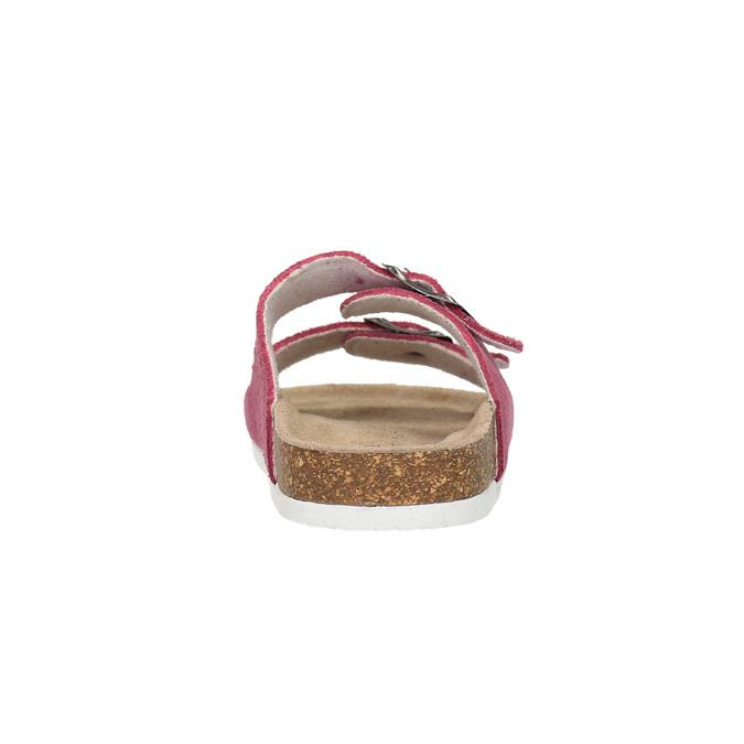 Dziecięce różowe pantofle de-fonseca, różowy, 373-5600 - 17