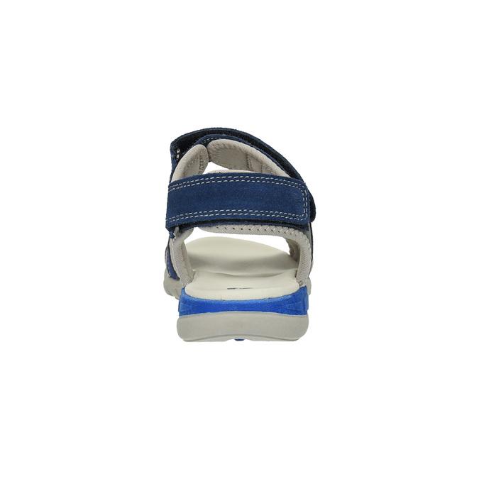 Sandały dziecięce mini-b, niebieski, 363-9182 - 17