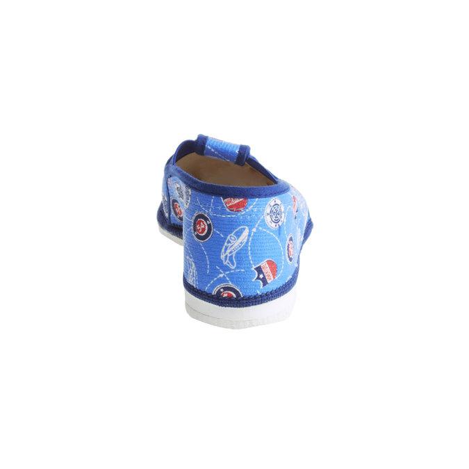 Pantofle dziecięce bata, niebieski, 279-9011 - 17