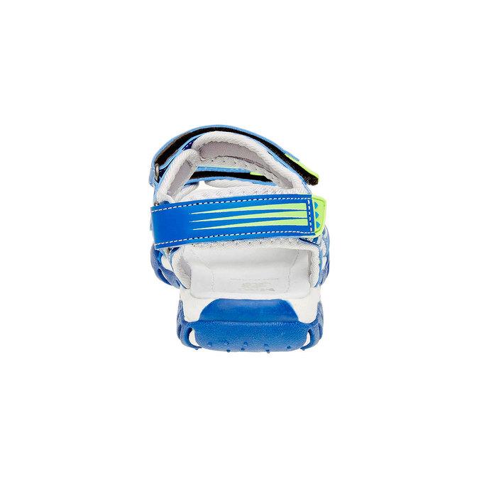 Sandały dziecięce mini-b, niebieski, 261-9168 - 17