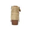Damskie zamszowe botki bata, beżowy, 693-1600 - 17