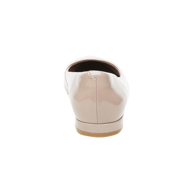 Damskie baleriny z lakierowanej skóry rockport, beżowy, 528-8102 - 17