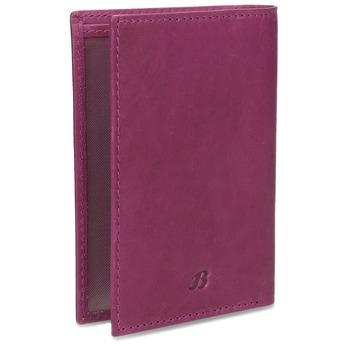 Skórzane etui na karty bata, różowy, 944-5158 - 13