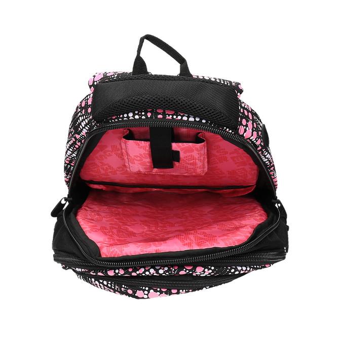 Dziewczęcy szkolny plecak z nadrukiem bagmaster, czarny, 969-5615 - 15