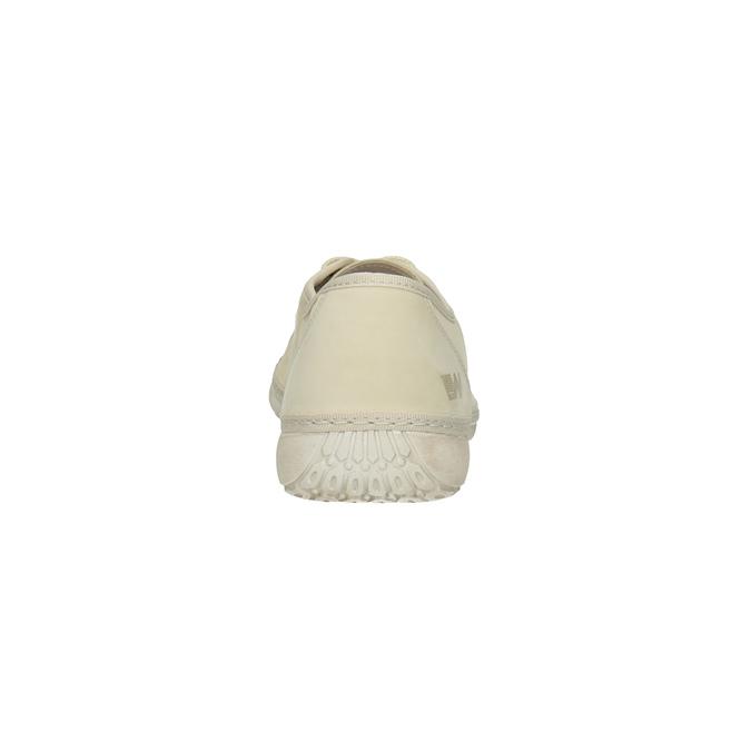 Nieformalne półbuty ze skóry weinbrenner, beżowy, 526-8610 - 17