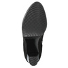 Botki damskie zklamrami bata, czarny, 699-6630 - 19