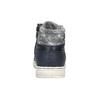 Chłopięce trampki do kostki mini-b, niebieski, 391-9600 - 17