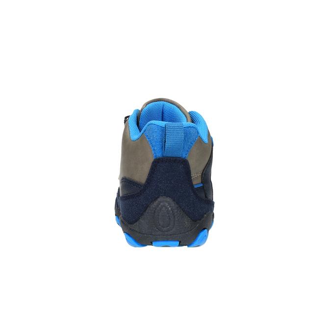 Botki chłopięce na rzepy bubblegummer, niebieski, 291-2600 - 17
