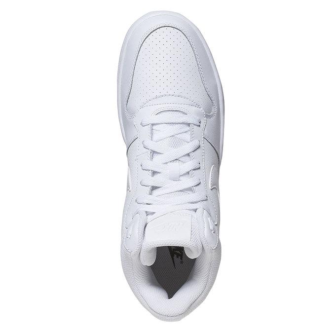 Białe trampki za kostkę nike, biały, 801-1332 - 19