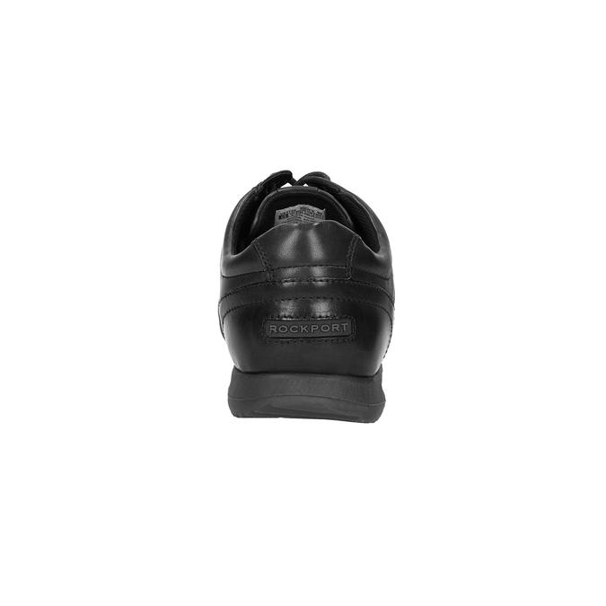 Nieformalne półbuty ze skóry rockport, czarny, 824-6038 - 17