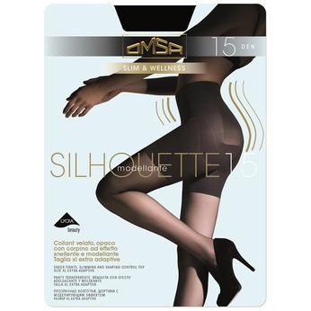 Rajstopy damskie modelujące sylwetkę omsa, czarny, 919-6391 - 13