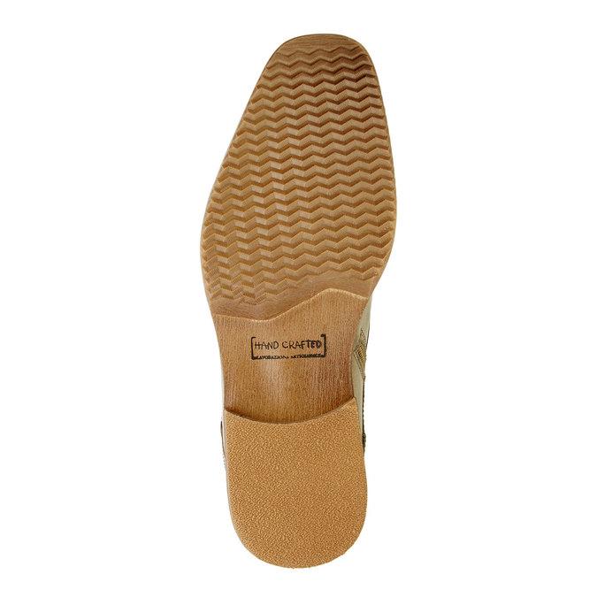 Męskie skórzane botki bata, brązowy, 894-2620 - 26