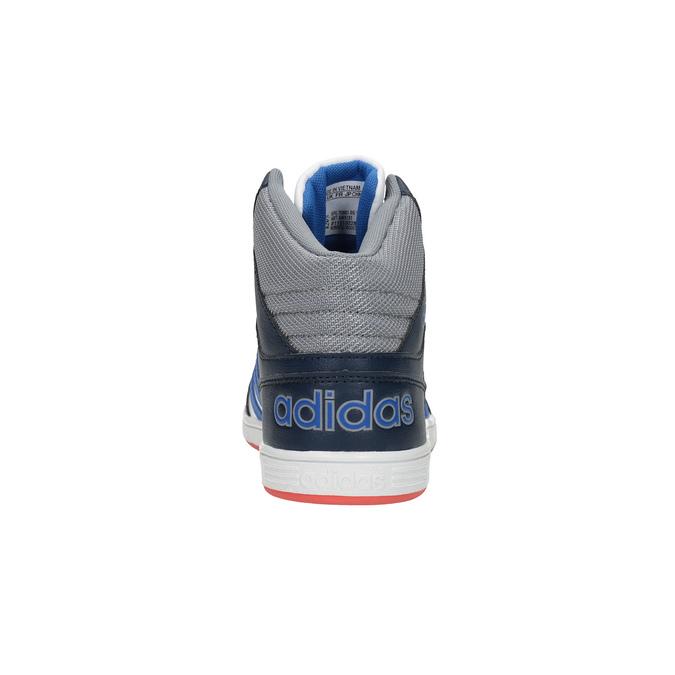 Trampki dziecięce za kostkę adidas, biały, 401-1231 - 17
