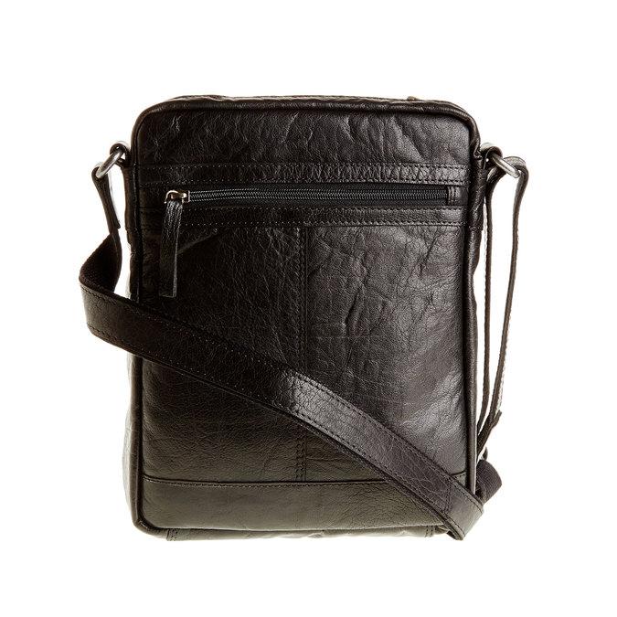 Skórzana torba Crossbody bata, czarny, 964-6180 - 26