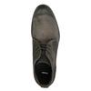 Zamszowe buty za kostkę bata, szary, 846-6611 - 19