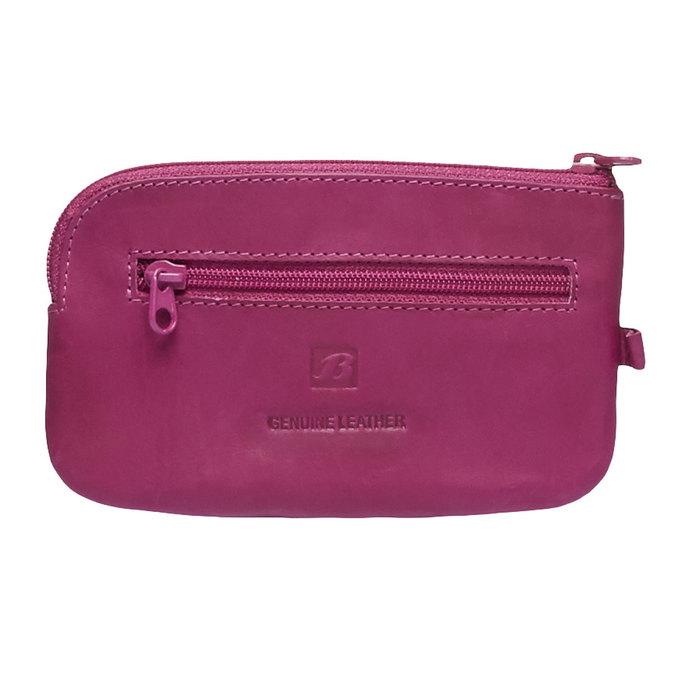 Skórzany portfel bata, różowy, 944-5161 - 26