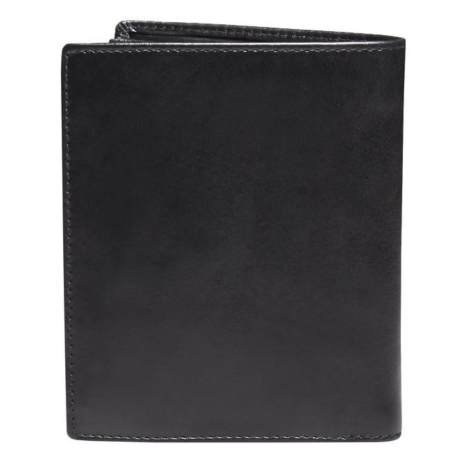 Skórzany męski portfel bata, czarny, 944-6121 - 26