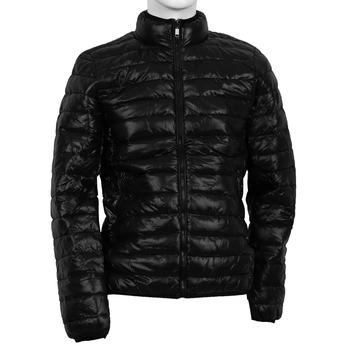 Pikowana kurta męska bata, czarny, 979-6613 - 13