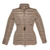 Damska kurtka z klamerką bata, brązowy, 979-8640 - 13