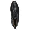 Skórzane ocieplane buty za kostkę conhpol, czarny, 894-6679 - 19