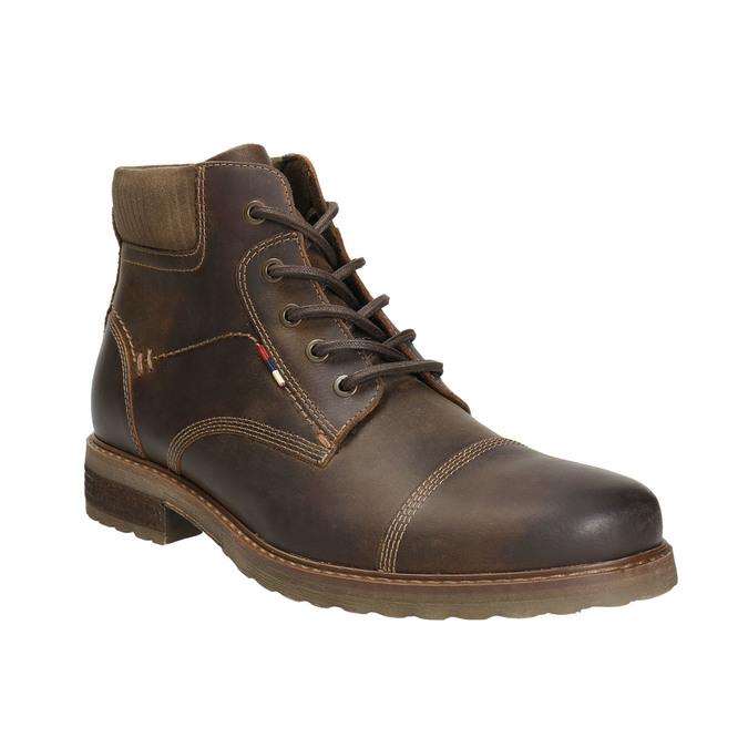 Męskie buty zimowe bata, brązowy, 894-4644 - 13