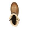 Skórzane buty zimowe zfuterkiem bata, brązowy, 594-4609 - 19