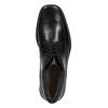 Skórzane ocieplane buty za kostkę bata, czarny, 894-6640 - 26