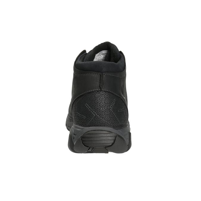 Skórzane trampki męskie merrell, czarny, 806-6836 - 17