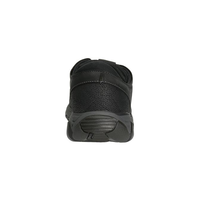 Skórzane trampki męskie merrell, czarny, 806-6846 - 17