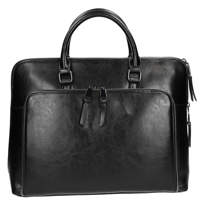 Elegancka torebka do noszenia w ręce bata, czarny, 961-6882 - 26
