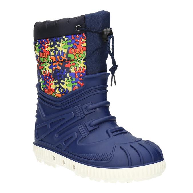 Śniegowce dziecięce zociepliną mini-b, niebieski, 392-9200 - 13