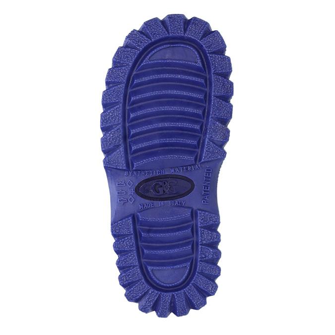 Zimowe buty dziecięce zociepliną mini-b, niebieski, 292-9201 - 26